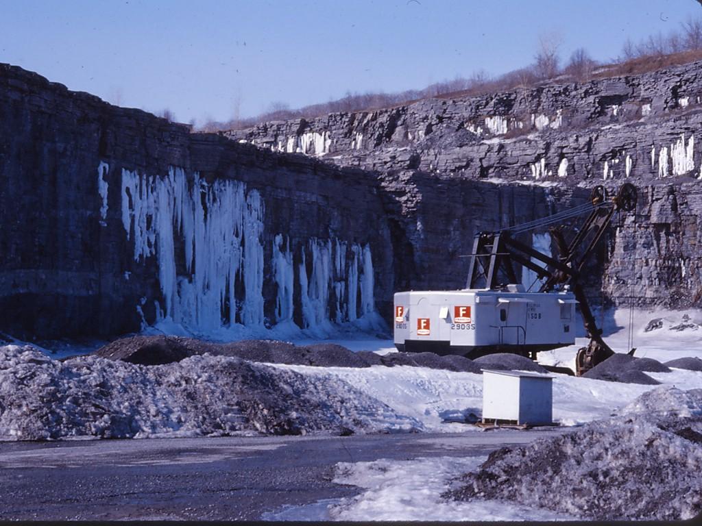 francon quarry minerals Montreal Quebec Canada