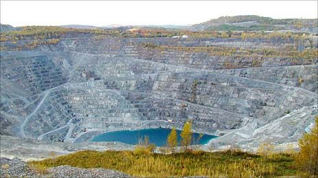 Jeffrey Mine Asbestos Quebec Canada