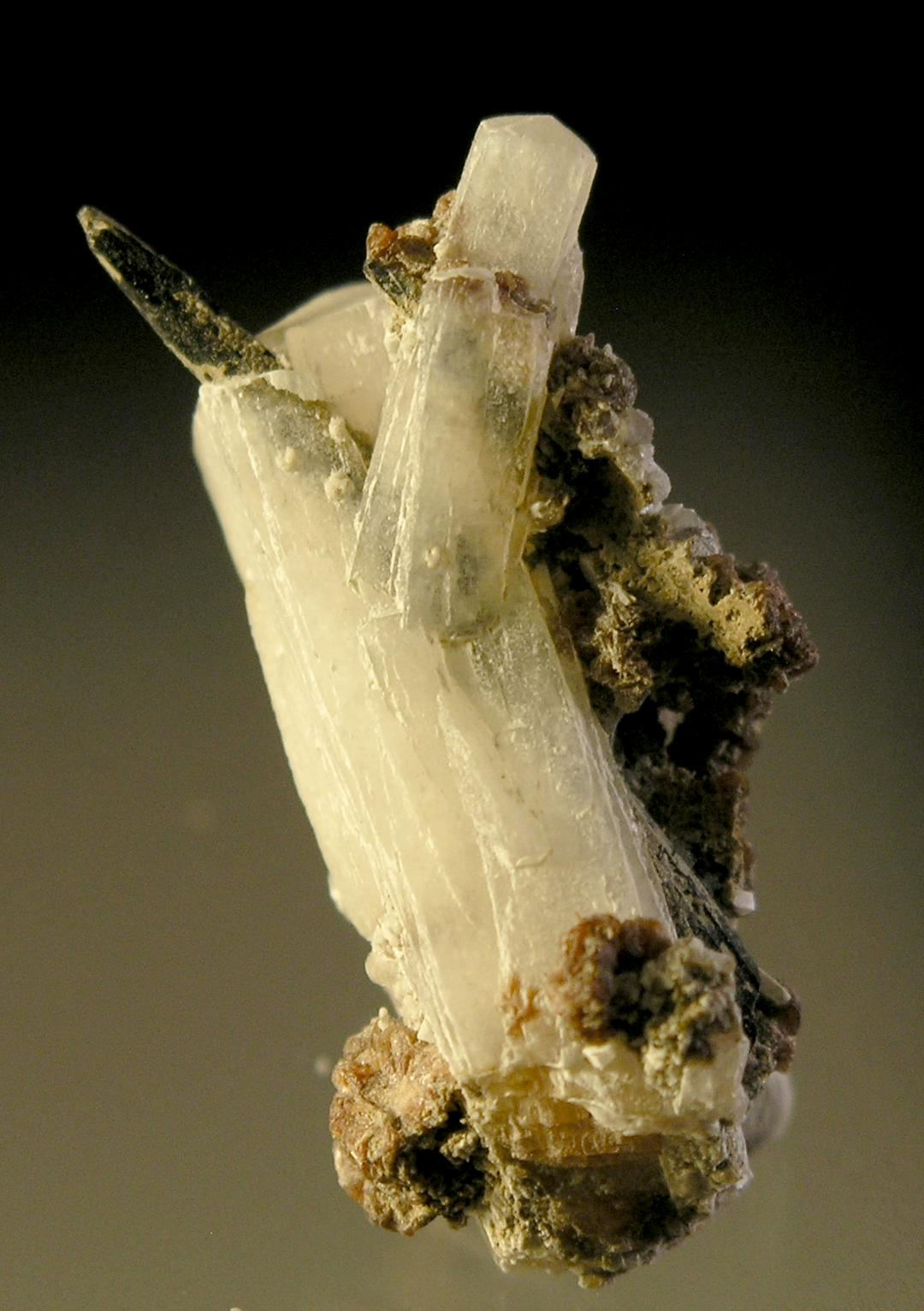 Natrolite from Aegirine, Mont Saint Hilaire, Quebec