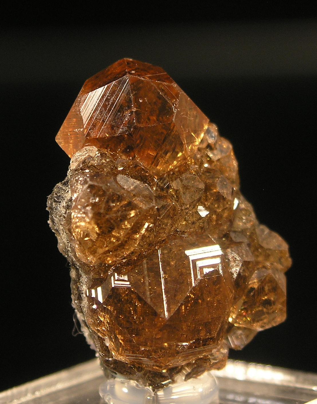 Garnet, Grossular, Jeffrey Mine, Asbestos, Quebec - 003