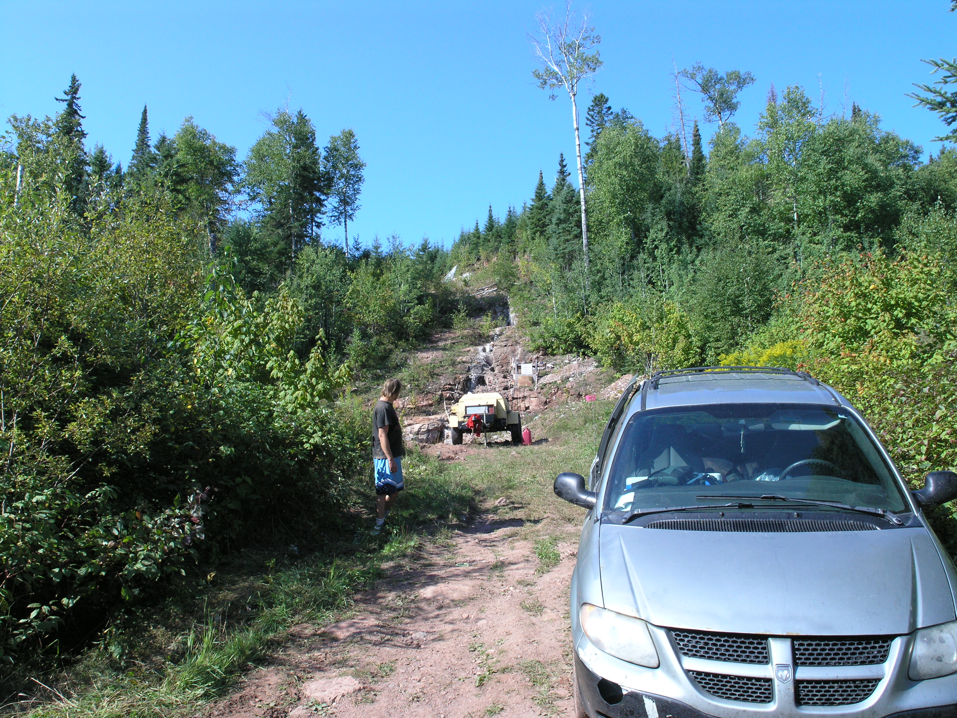 Boulder Creek mine, Thunder Bay Ontario