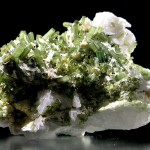 Elbaite Tourmaline, Albite, Stak Nala, Pakistan - 005