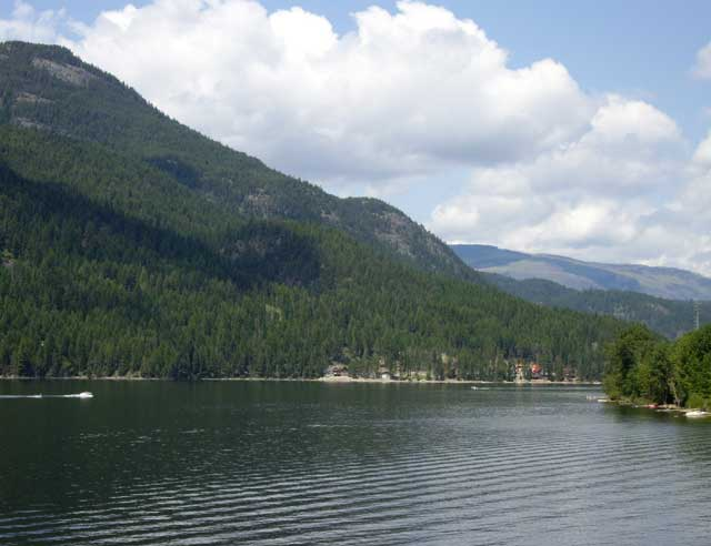 Moyie lake British Columbia