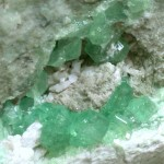 Andradite Demantoid Garnet, LAB Mine, Black Lake, Quebec – 002