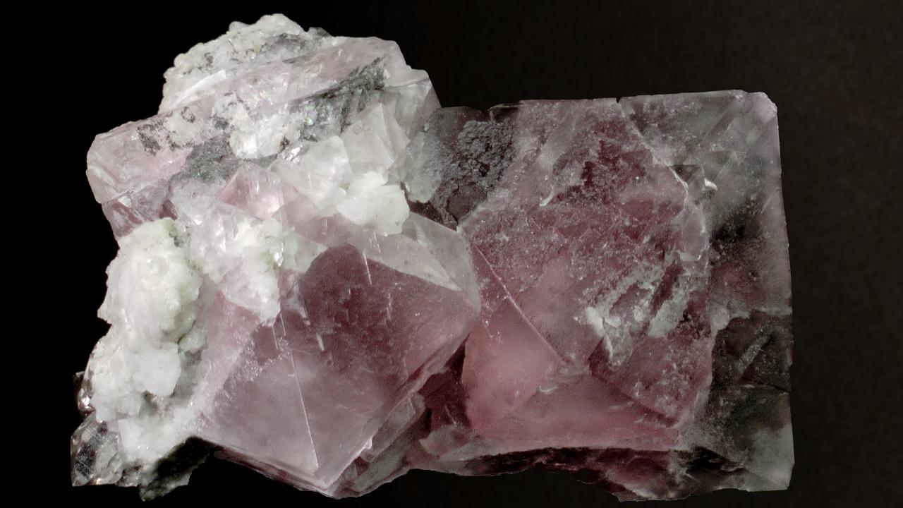 Fluorite, Pointe Kurz, France -001