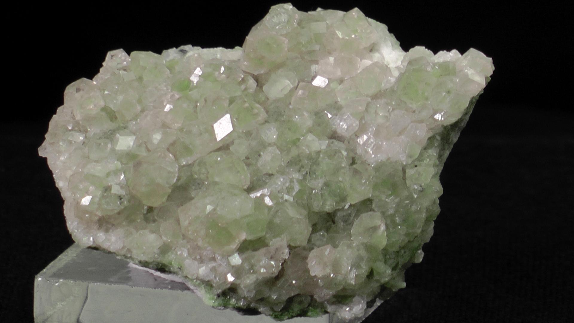 Grossular Garnet, Jeffrey Mine, Asbestos, Quebec - 002