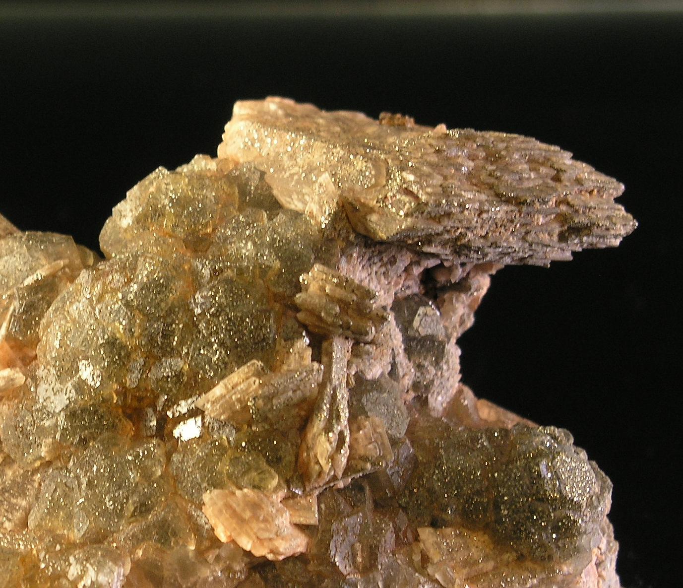 Fluorite - Baryte, Niobec Mine, Quebec - 002