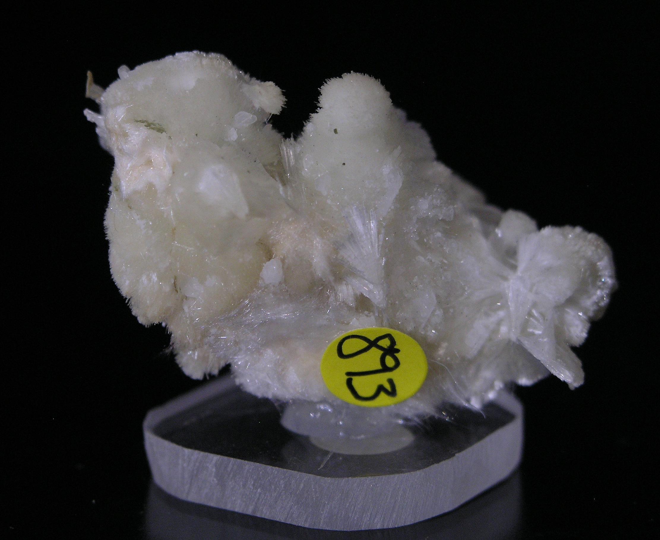 Pectolite, Jeffrey Mine, Asbestos, Quebec, Canada - 001