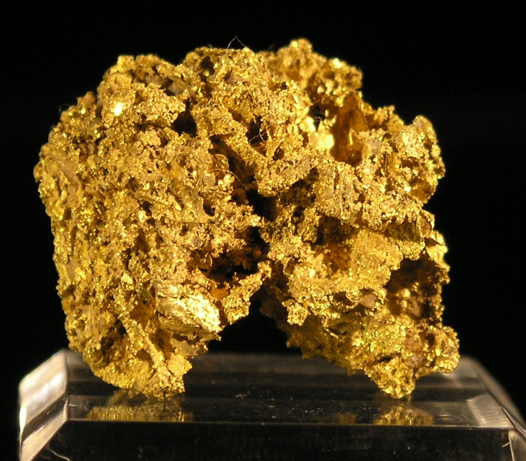 Gold Specimen, Joe Mann Mine,  Chibougamou area