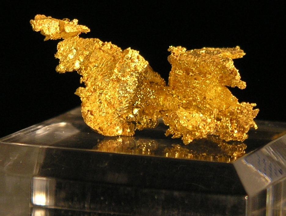 Gold Joe Mann Mine Fine mineral specimen Chibougamou area