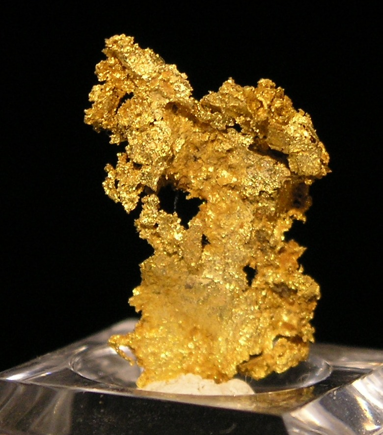 Gold fine mineral specimen new locality -007
