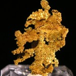 Gold fine mineral specimen new locality -010