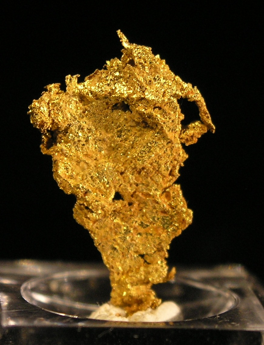 Gold fine mineral specimen new locality -009