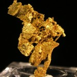 Gold fine mineral specimen new locality -006