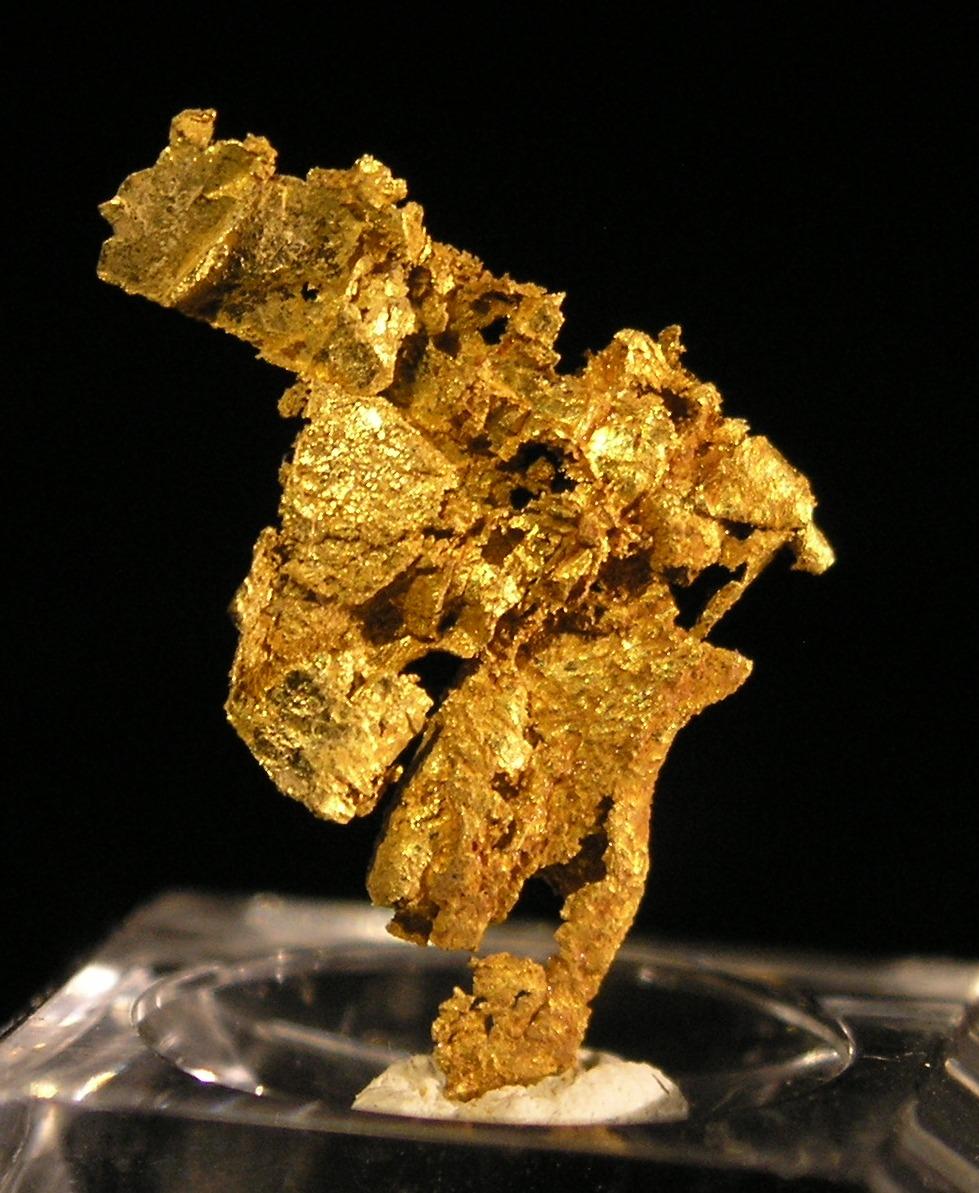 Gold fine mineral specimen new locality -006