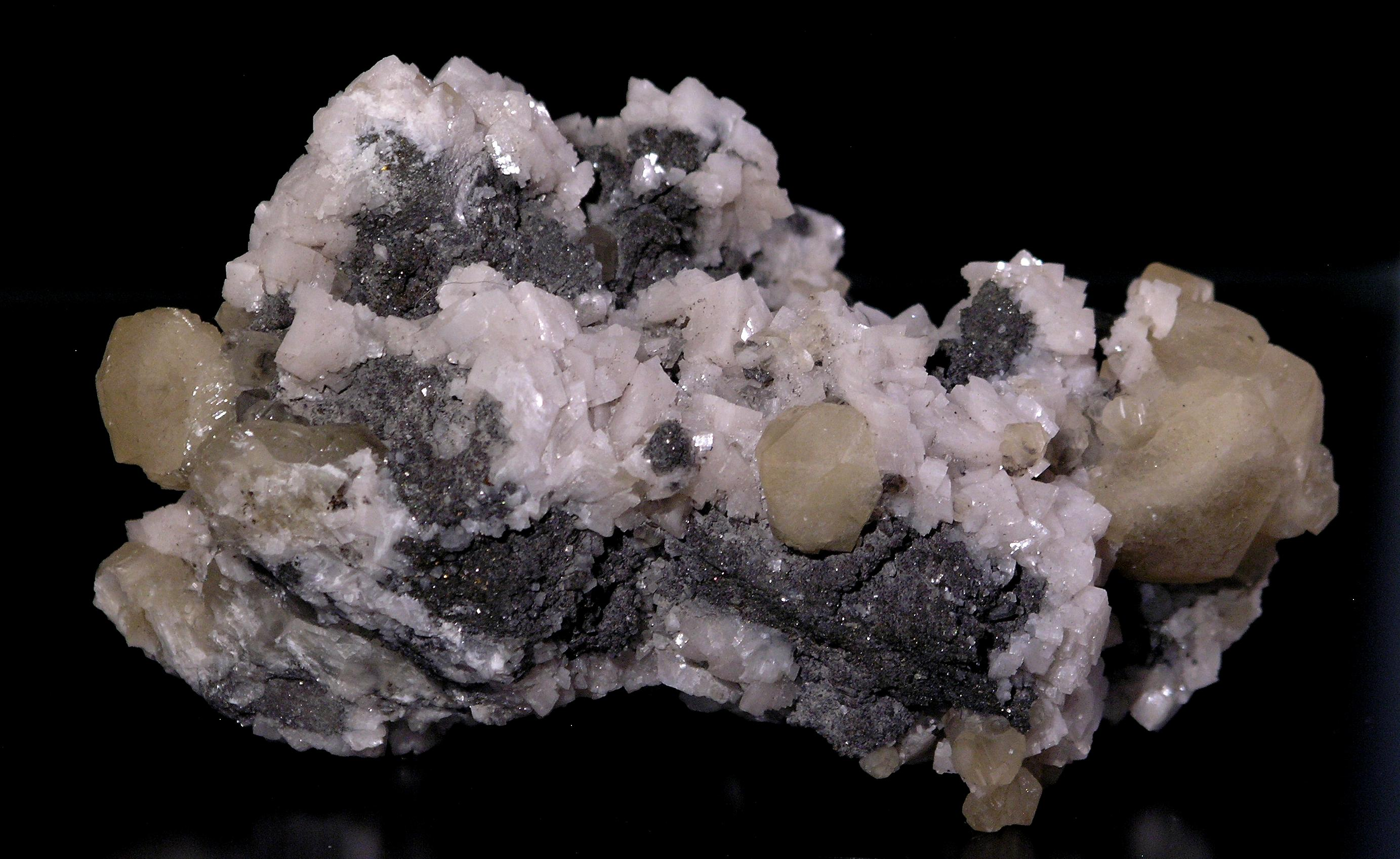 Calcite, Marcil Quarry, Quebec -006