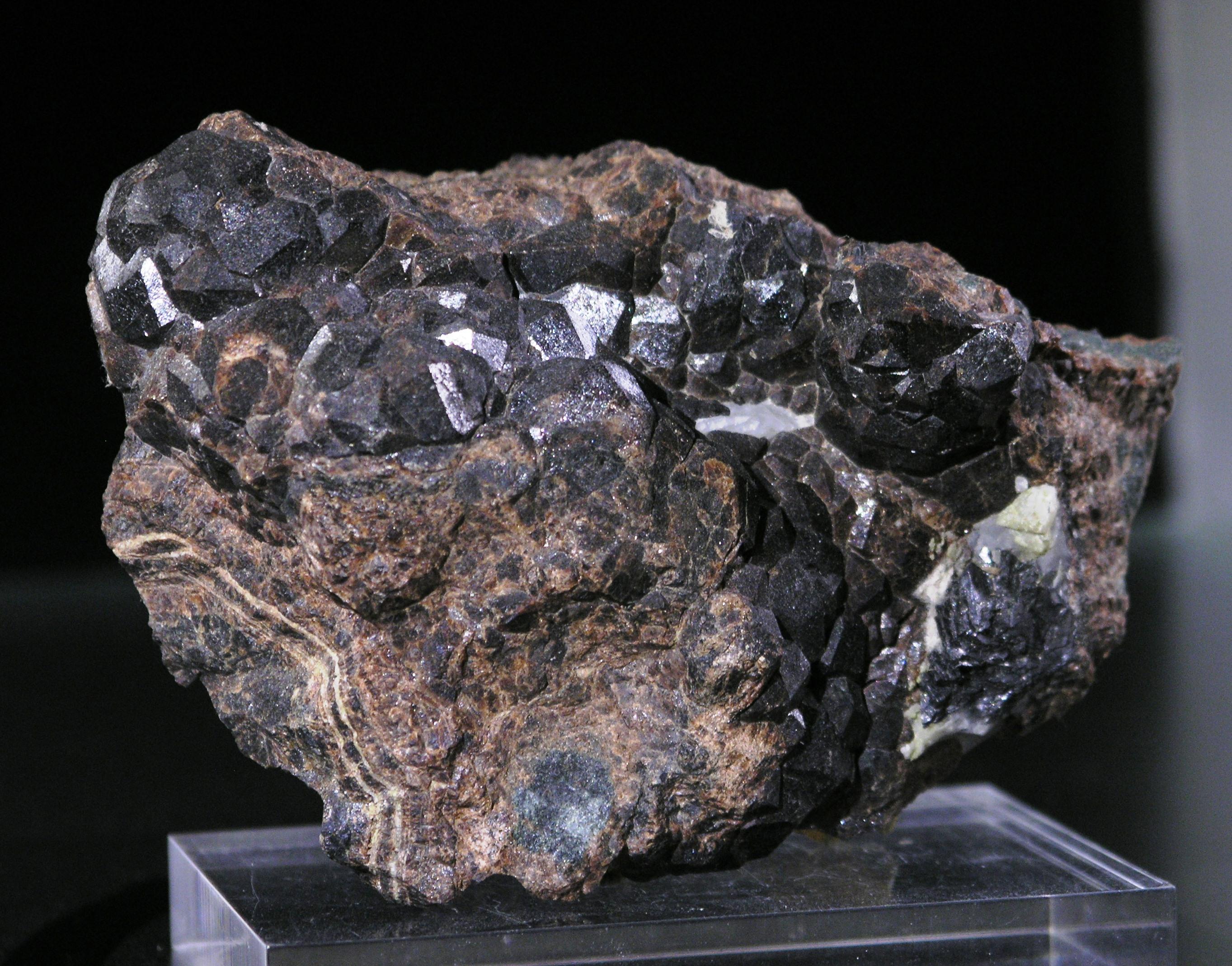 Andradite Garnet Marmoraton mine Ontario Canada -001