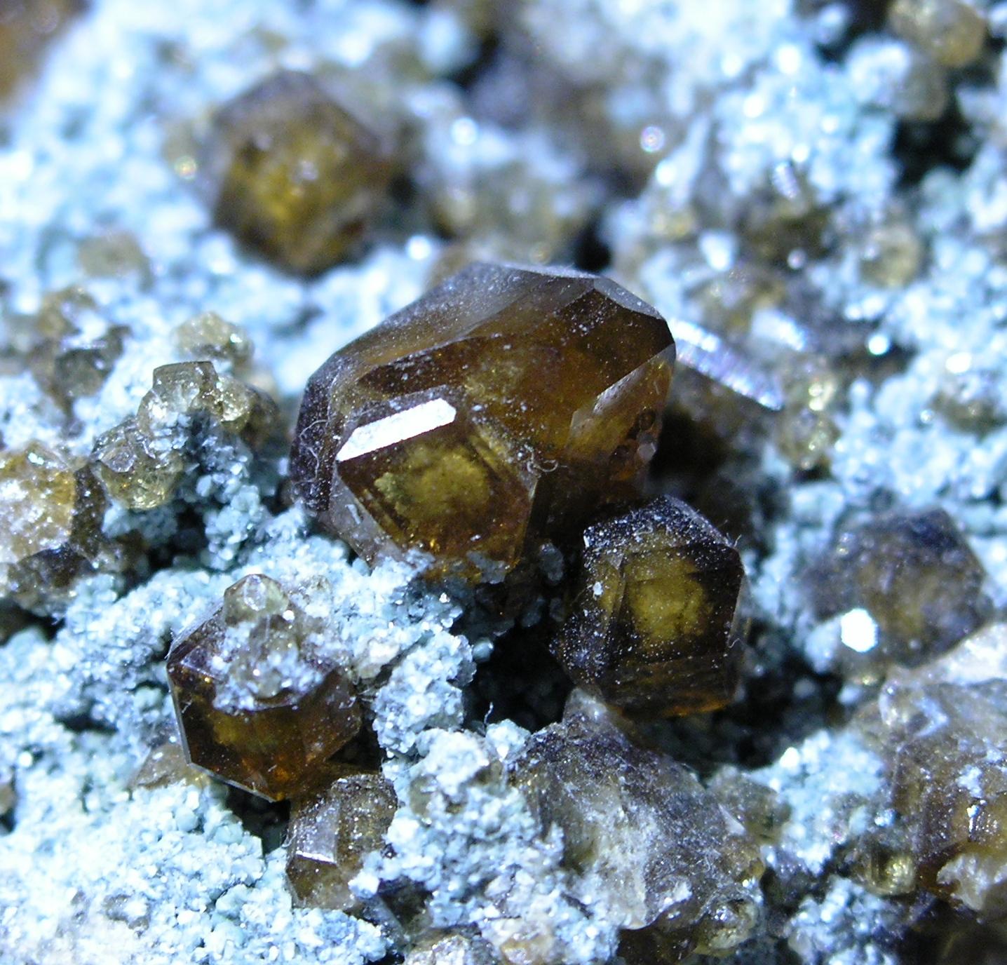 Grossular Hessonite Garnet Asbest Russia