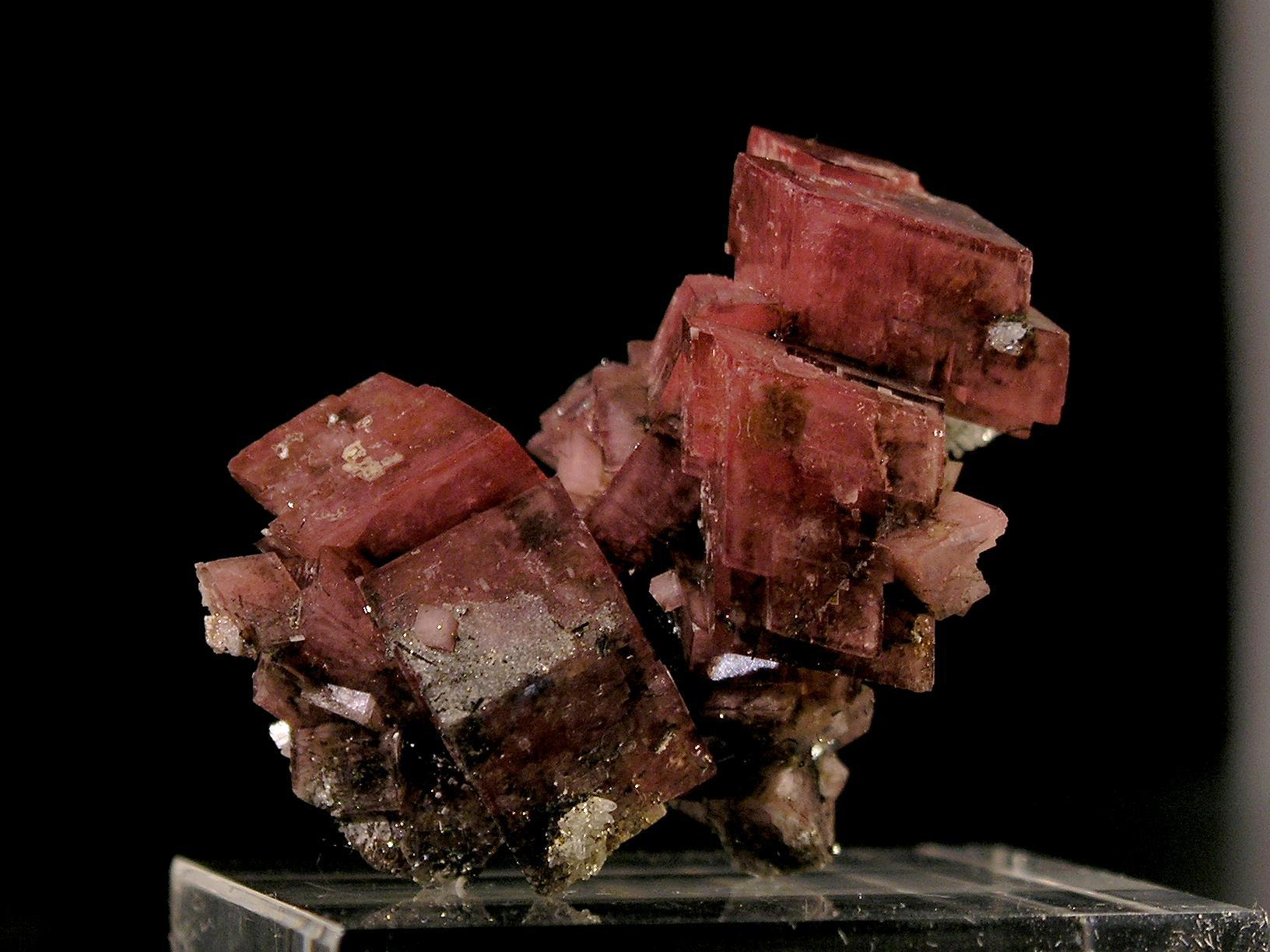 Rhodochrosite from Hallapan, Pasto Bueno, Peru -003