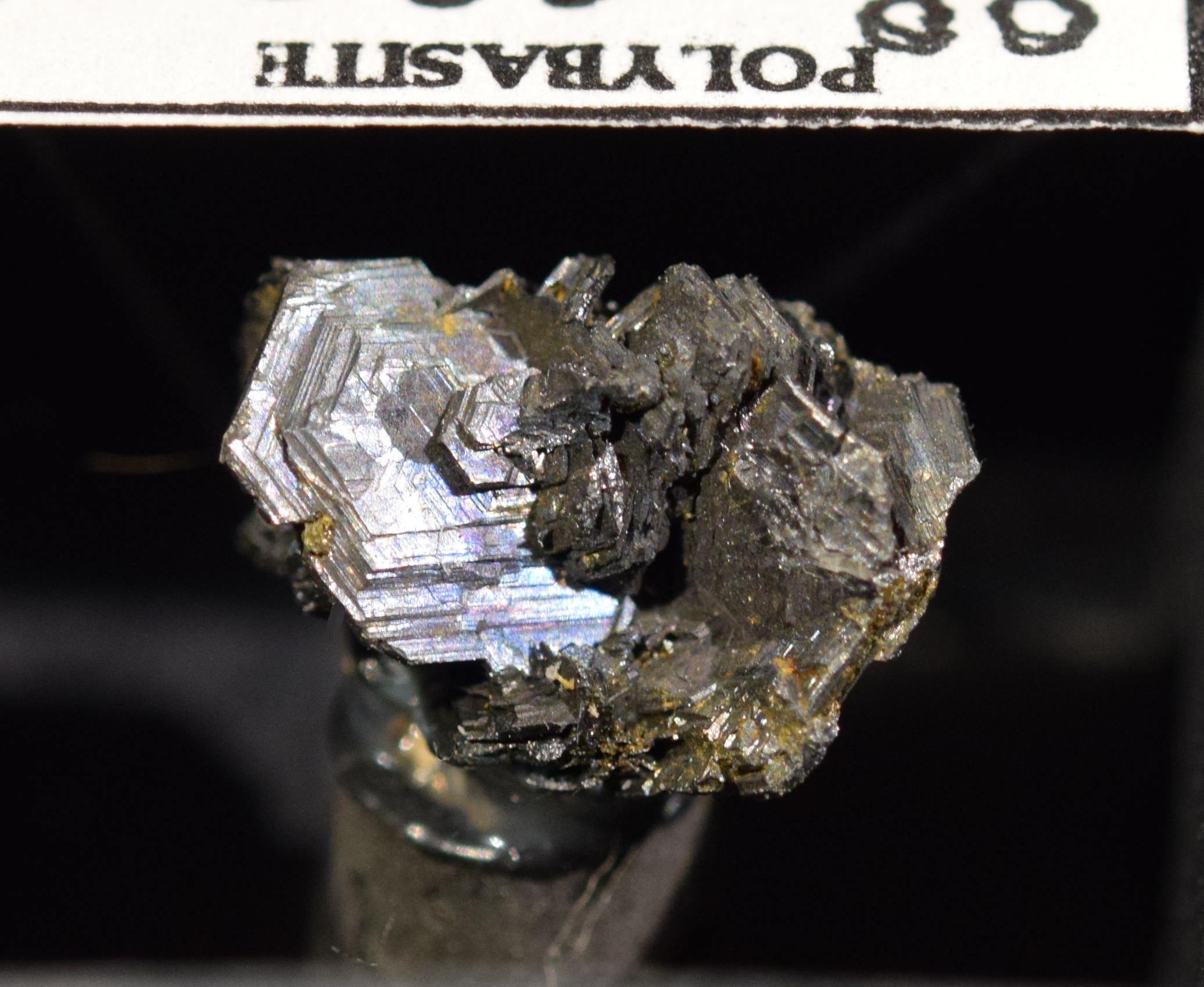 Polybasite Husky Mine Elsa Yukon Canada
