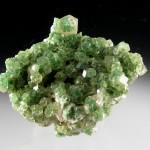 Grossular Garnet Diopside Inclusions Jeffrey Mine 001