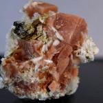 Rhodochrosite Albite Aegirine MSH -001