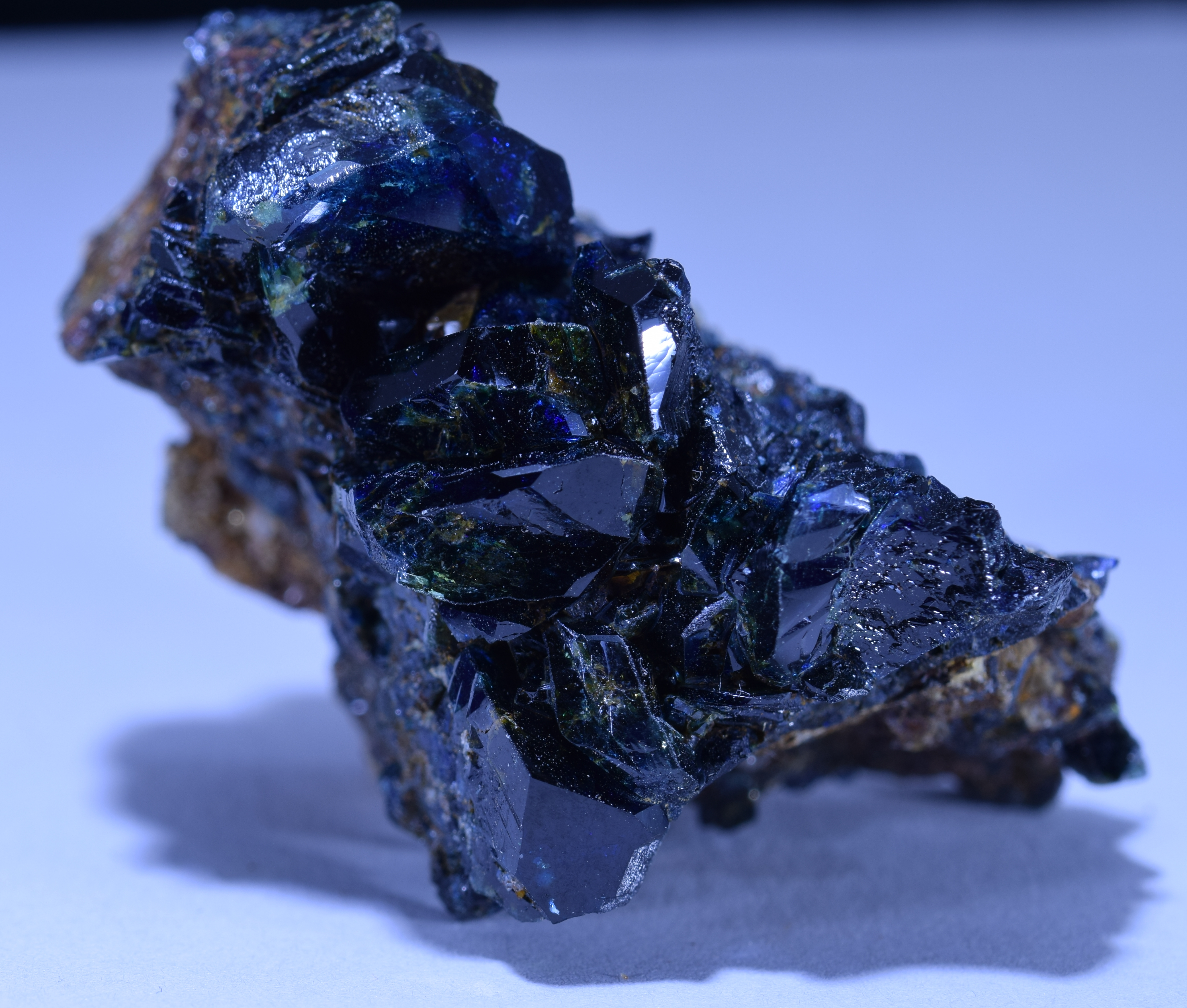 LAZULITE, Rapid Creek, Yukon, Canada - 006