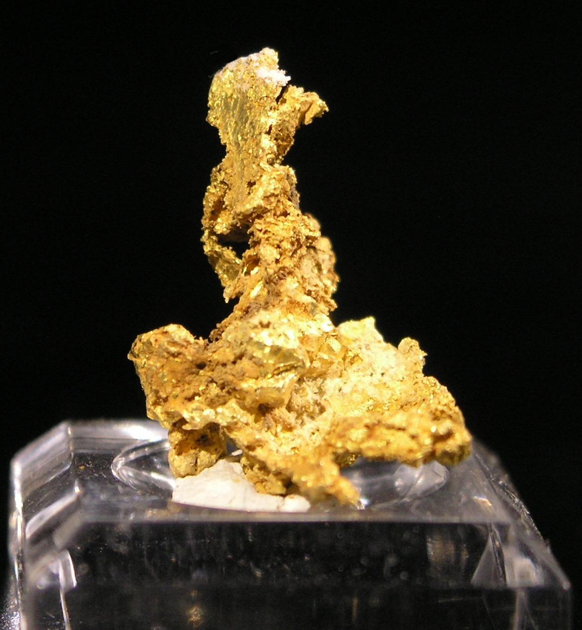 Gold fine mineral specimen new locality -016