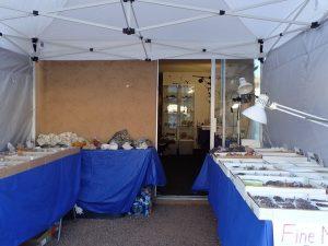 My setup at the Riverpark Inn, Tuscon, AZ