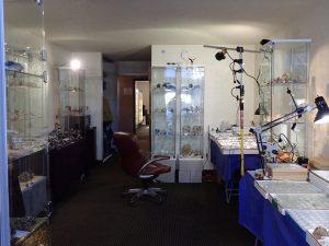 My setup inside the Riverpark Inn, Tuscon, AZ