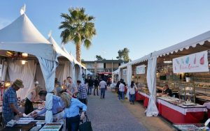 Pueblo Gem and mineral show_Tents