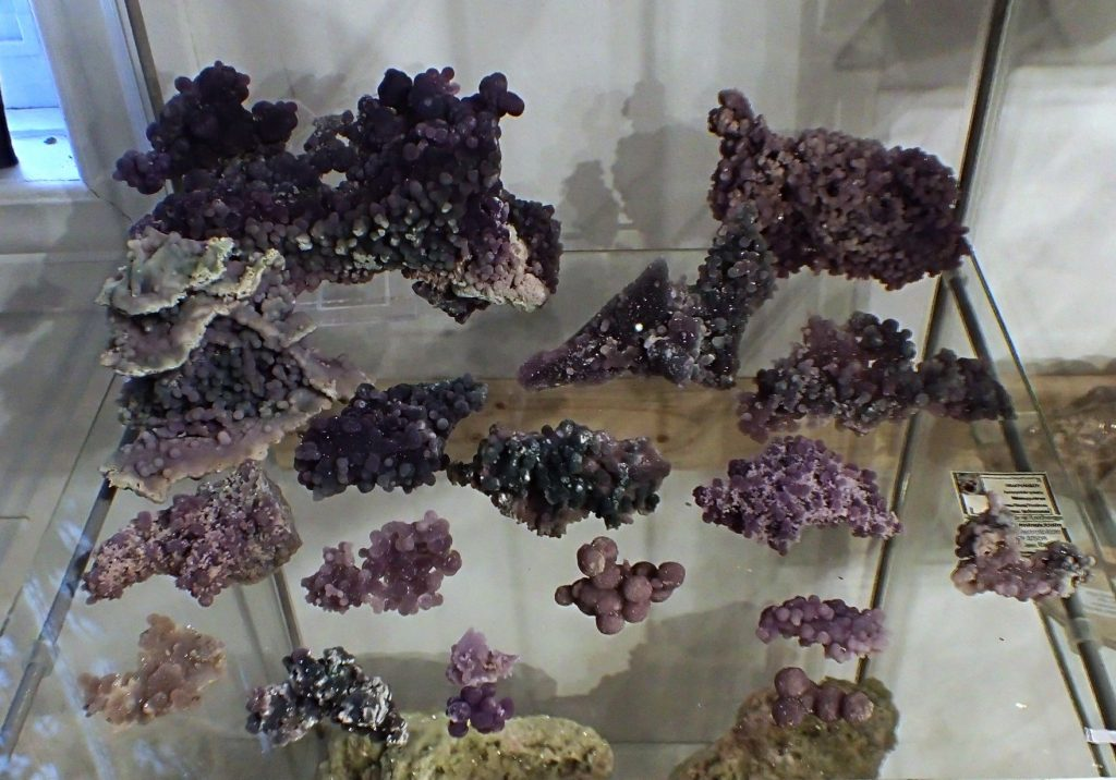 Grape Amethyst specimens